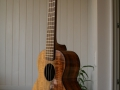 GRENOSI Concert Ukulele Koa - slant view right