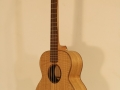 GRENOSI Tenor Ukulele Curly Ash slant view treble