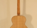 GRENOSI Tenor Ukulele Curly Ash back