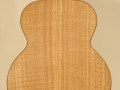 GRENOSI Tenor Ukulele Curly Ash back detail