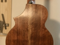 GRENOSI Tenor Ukulele Cutaway Walnut - back detail