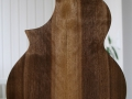 GRENOSI Tenor Ukulele Walnut Cutaway HW - back detail
